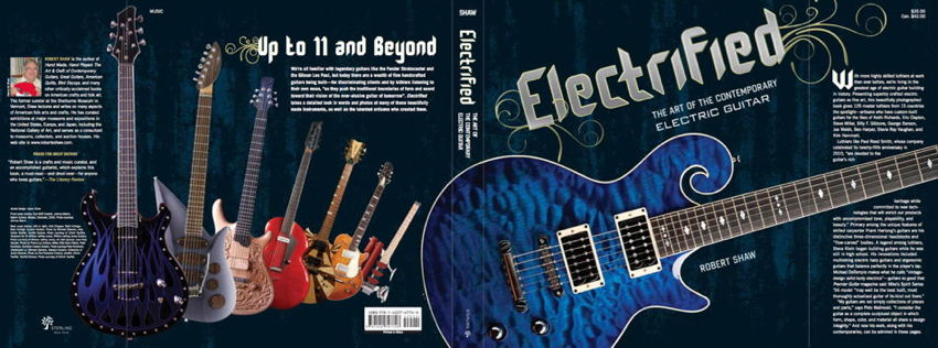 Electrified dust jacket